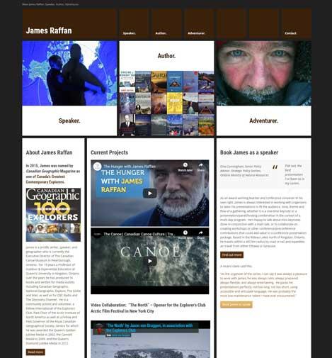 James Raffan's website